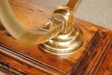 センター テーブル ローテーブル おしゃれ コーヒーテーブル 木天板 テーブル カクテルテーブル 木製 イタリア製 古木 真鍮 カパーニ アンティーク CAPANNI 送料無料