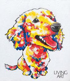 父の日 アート 絵画 オーダー 愛犬 ペット 似顔絵 ギフト