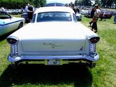 Heck des 1957er Oldsmobile
