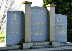 Monument de la Paix à Huppy