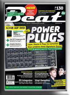 The first Test about the MINISIZER Modular in the german BEAT Magazine.