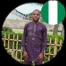 Study in Japan for Africa- Mr Amagu Amagu Clement- Nigeria