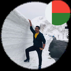 Study in Japan for Africa-Mr Mamy Rija Andriamboavonjy- Madagascar