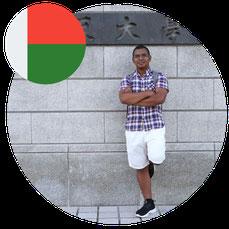 Study in Japan for Africa- Mr Andriariniaina Fanantenana- Madagascar
