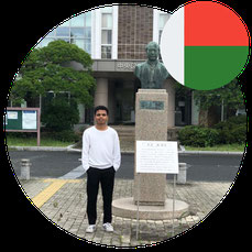 Study in Japan for Africa- Mr Ambinintsoa Urick- Madagascar