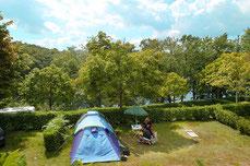 emplacements camping ombragés tente caravane camping pont du dognon