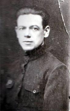 Отец, Козьма Евтропиевич Суровецкий в 1921 г.