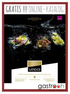 Sander Gourmet Katalog