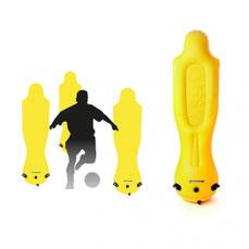 Mannequin de football gonflable. Matériel de football avec ce mannequin gonflable de 1,85 mètres. Lestable avec de l'eau.