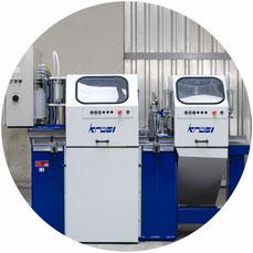 Chaletbau-Maschine