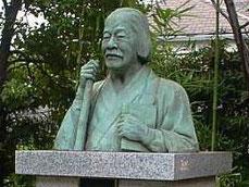 徳富蘇峰銅像