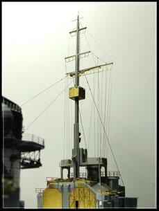 Uschi rigging takelage ship model