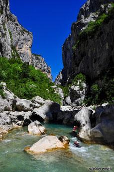 River trekking Verdon, aqua trekking verdon, aqua rando verdon, floating verdon