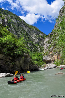 Kayaking Verdon, Kayaking Castellane, Kayaking southern alps, canoe kayak verdon castellane