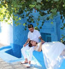 モロッコでフォトウェディング撮影/現地サポート会社La belle chaouen(ラベルシャウエン)