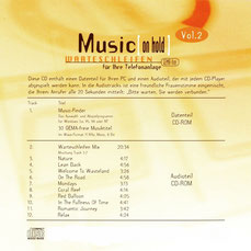 Relaxed Vol.2 - Music [on hold] - CD Booklet