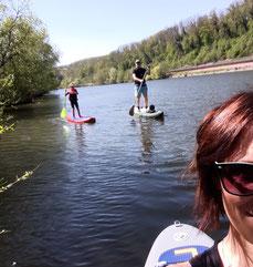 Geführte SUP Touren auf dem Neckar