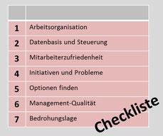 agile Veränderungen: die 7 Punkte Diagnose