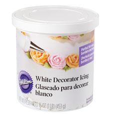 Glaseado Blanco para decorar bizcochos y cupcakes