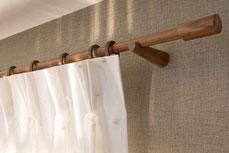 Vorhangarnitur von Interstil Holz
