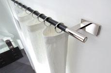 Vorhangarnitur von Interstil modern silber