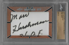 MARV HARSHMANN / Cut Signature  (#d 9/13)