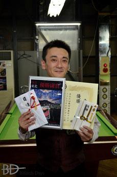 浦岡隆志プロ(JPBA)