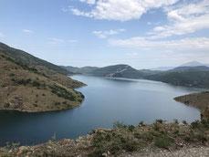 Fahrt Shkodre Lake - Koman