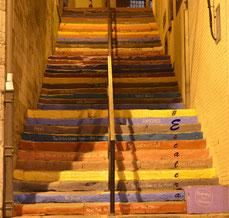La Escalera de la fama en #Gijón
