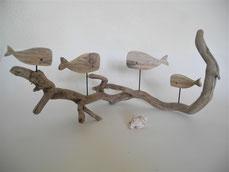 --FAMIGLIA BALENA-- Skulptur