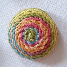 Posamentenknopf in mexikanischen Farben