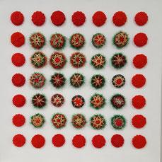 knopfoutlet.de - Bild mit Weihnachtsknöpfen