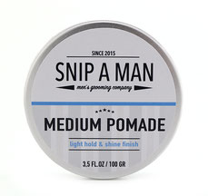 Snip a Man Medium Pomade 100g