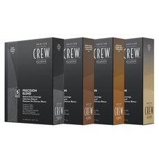 American Crew Precision Blend Dark, Light Blond, Med Natural und Medium Ash
