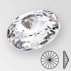Preciosa Rivoli Crystal