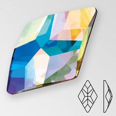 Preciosa Rhombus Crystal AB