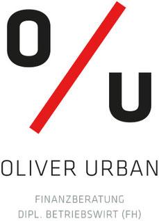 Logoentwurf von Peter Scheerer - Oliver Urban Finanzberatung - Jimdo Expert Stuttgart.
