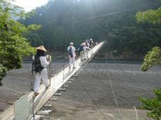 吊り橋ゆらユラ