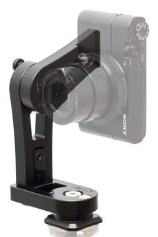 pocketPANO Nodalpunktadapter, induviduell für eine bestimmte Kamera entwickelt