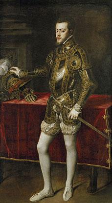 Der junge Philipp (Tizian 1551)