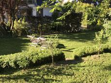 Blick vom Gartenhaus - OWWE