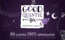 Good quantic box, pierres de lumière, saint rémy de provence, esotérisme, lithtérapie, tarots, oracles