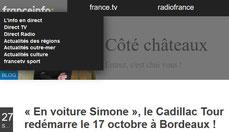 Cadillac Tour en France