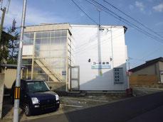 米沢市ハイツ米沢2Kの外観写真