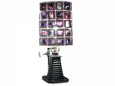 Lampe upcycling diapositives et aggrandisseur pour chambre noir
