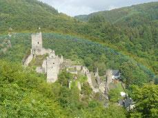 Regenbogen beim Niederburg