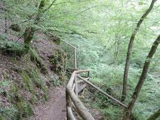 Wanderen und Mountainbiken auf der Lieserwanderung