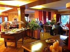 Hotel Haus Burgblick ontbijtbuffet