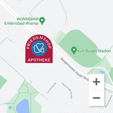 Google maps, Standort