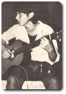 Dirk Hübner mit 17 in der Berufschule